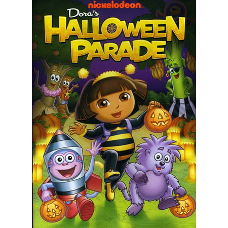 Dora The Explorer: Dora's Halloween Parade (DVD) - Los Gatos Halloween Parade