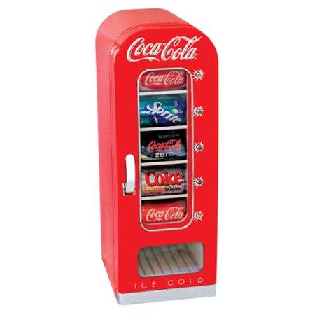 Coca Cola  Cvf18 10 Can  Retro Vending Fridge