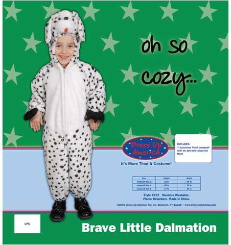 Brave Little Dalmatian Costume Set - Size 10