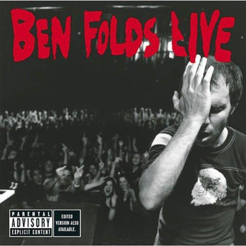 """Initial pressings of BEN FOLDS LIVE will include a bonus DVD disc.<BR>Personnel includes: Ben Folds (vocals, piano); John McCrea (vocals).<BR>For his mid-2002 tour, unabashed popster and nouveau piano man Ben Folds decided to do """"something a little different.""""  Outside of occasional guest appearances, it was just Folds on stage with his wispy voice and his grand piano. However, as anyone who's ever seen Folds could imagine, the shows were far from stale or restrained or spare, but raucous and rousing and rowdy as the slight Folds relentlessly, torrentially pounded away at the keys and whipped the crowd into frenzy upon frenzy. BEN FOLDS LIVE, recorded at various spots on the tour, accurately captures this spirit.<BR>BEN FOLDS LIVE takes a cross-section of his budding career, drawing from both his first solo record, new songs, and his days fronting trio Ben Folds Five and makes some surprising choices.  BF5 hits """"Brick"""" and """"Army"""" are featured, but the singles from the solo album are absent, as is the crowdpleasing """"Song For The Dumped"""" (it does show up on the DVD with the first 100,000 copies). There is an organic feeling to the record, as on an improptu and downright beautiful version of """"Emaline,"""" and a faithful cover of the Elton John classic """"Tiny Dancer."""" BEN FOLDS LIVE perfectly represents the raw energy of this distinctive singer-songwriter."""