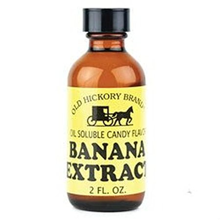 Hickory Flavor - Old Hickory Banana Flavored Extract