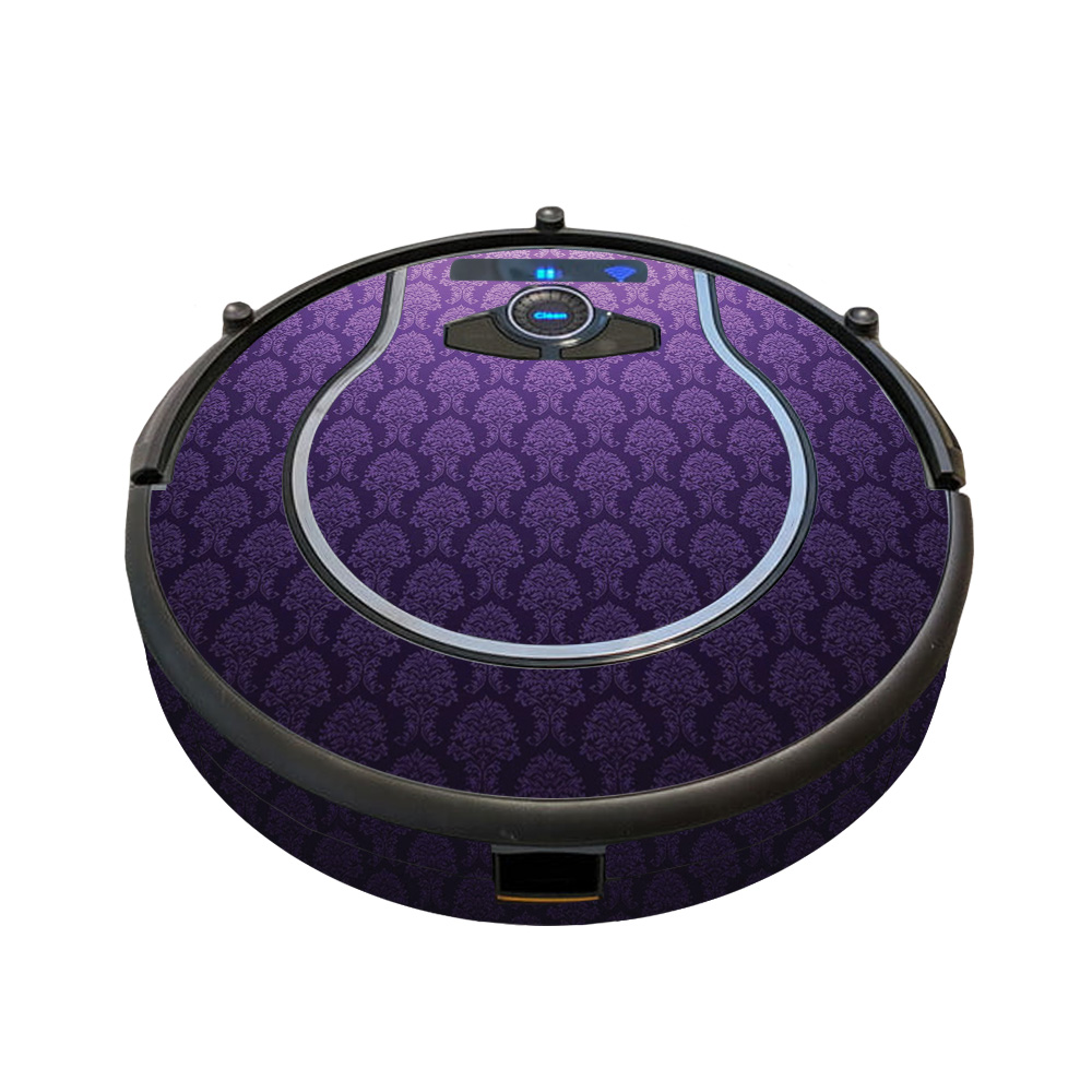 MightySkins Skin for Shark Ion Robot R85 Vacuum - Antique Purple   Protective, Durable, and Unique Vinyl Decal wrap cover   Easy To Apply, Remove, and Change Styles   Made in the USA