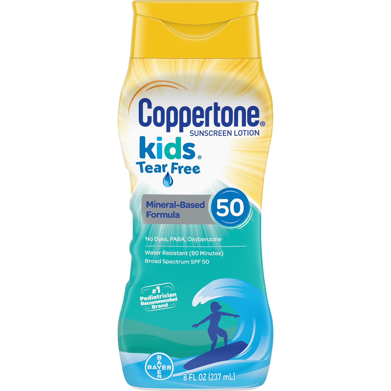 Coppertone Kids SPF 50 Tear Free Lotion, 8 fl oz