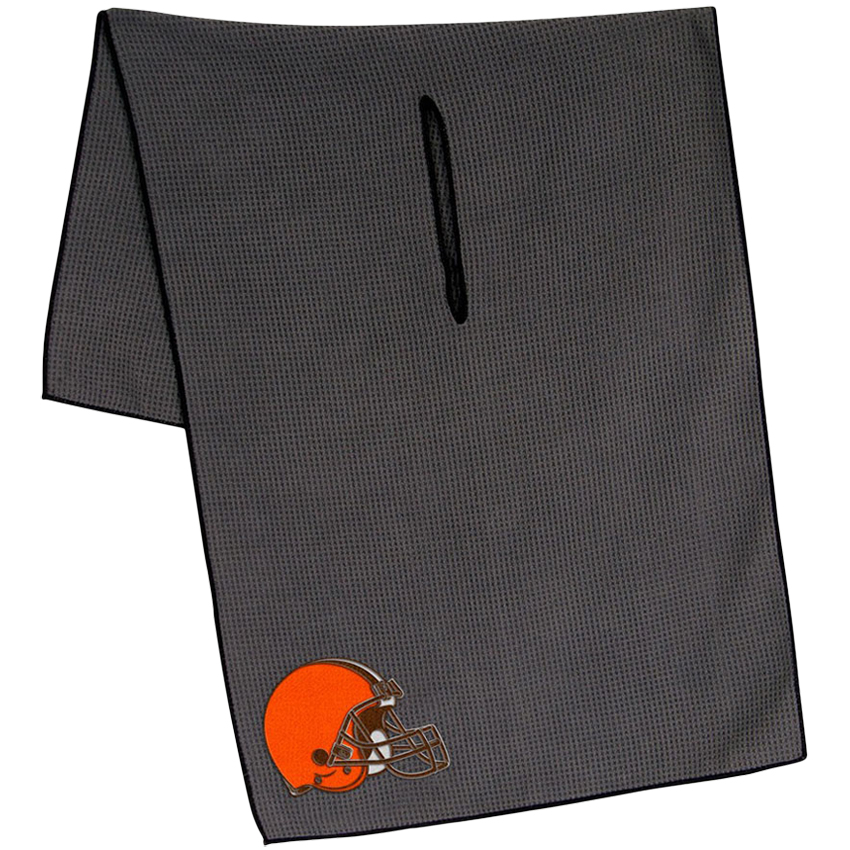 "Cleveland Browns 19"" x 41"" Gray Microfiber Towel - No Size"