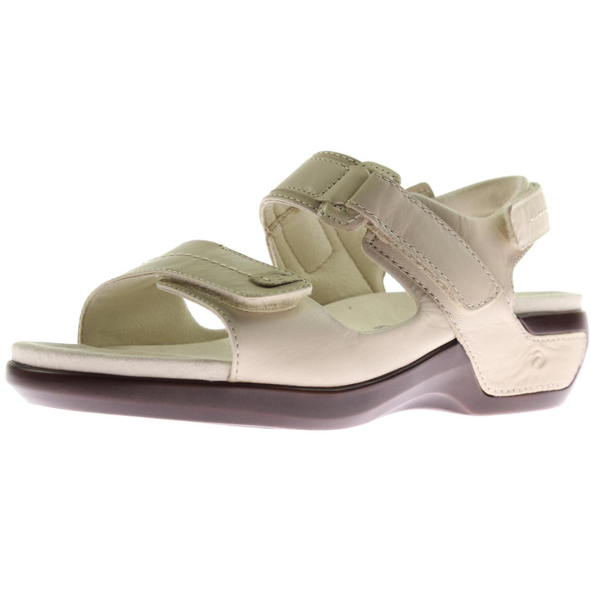 Womens Katy Leather Wedge Fisherman Sandals