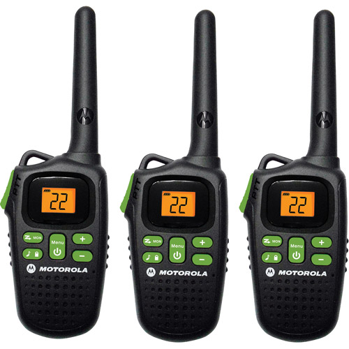 Motorola MD200TPR - 20 Mile Range Talkabout 2-Way Radios, 3-PACK