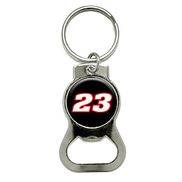 23 Number Round Bottle Opener Keychain by Graphics and More