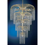 36 in. Sprays Chandelier (Crystalique)
