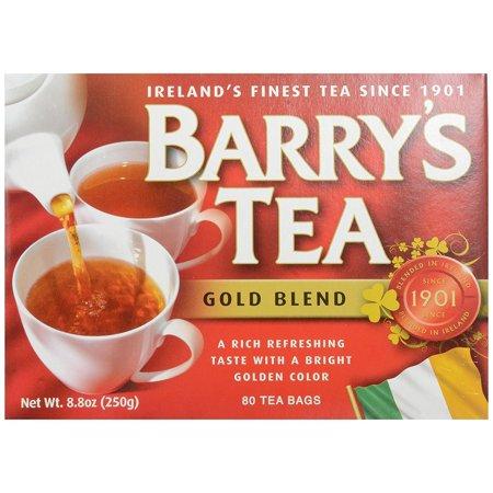 Barrys Tea Gold Blend 80 Tea Bags 250g By Barry's Tea Ship from US Barrys Gold Blend Tea Bags