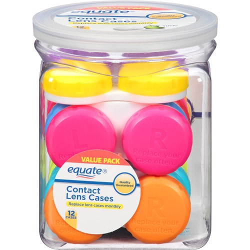 Equate Contact Lens Cases, 12 Ct - Walmart.com at Walmart - Vision Center in Connersville, IN | Tuggl