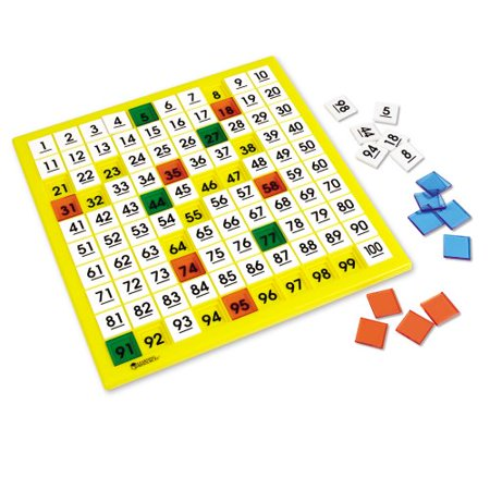 - Learning Resources Plastic Hundreds Board