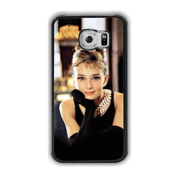 Audrey Hepburn Breakfast Club Galaxy S7 Edge Case