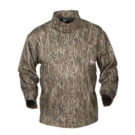 Banded Tec Fleece Mock Neck Shirt Bottomland Small