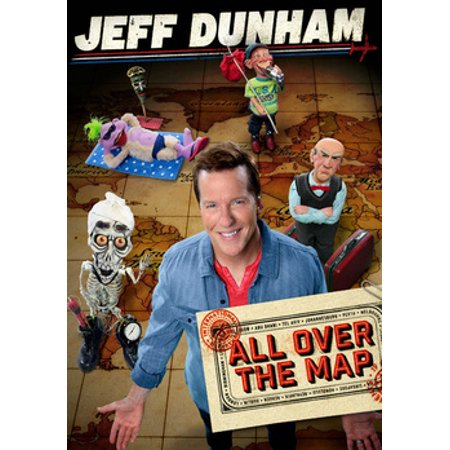 JEFF DUNHAM-ALL OVER THE MAP (DVD) (WS/5.1 DOL DIG) (DVD) - Halloween Jeff The Killer