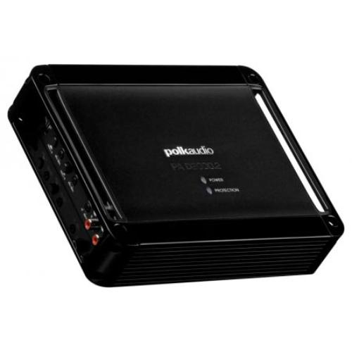 Polk Audio Pa D2000.2 Car Amplifier - 500 W Rms - 2 Channel - Class D - Bridgeable - 105 Db[a] Snr - 0% Thd - 20 Hz To 20 Khz - Mosfet Power Supply - 2 X 125 W @ 4 Ohm - 2 X 250 W @ 2 Ohm (pad20002)