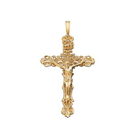 10KT Gold Crucifix Charm