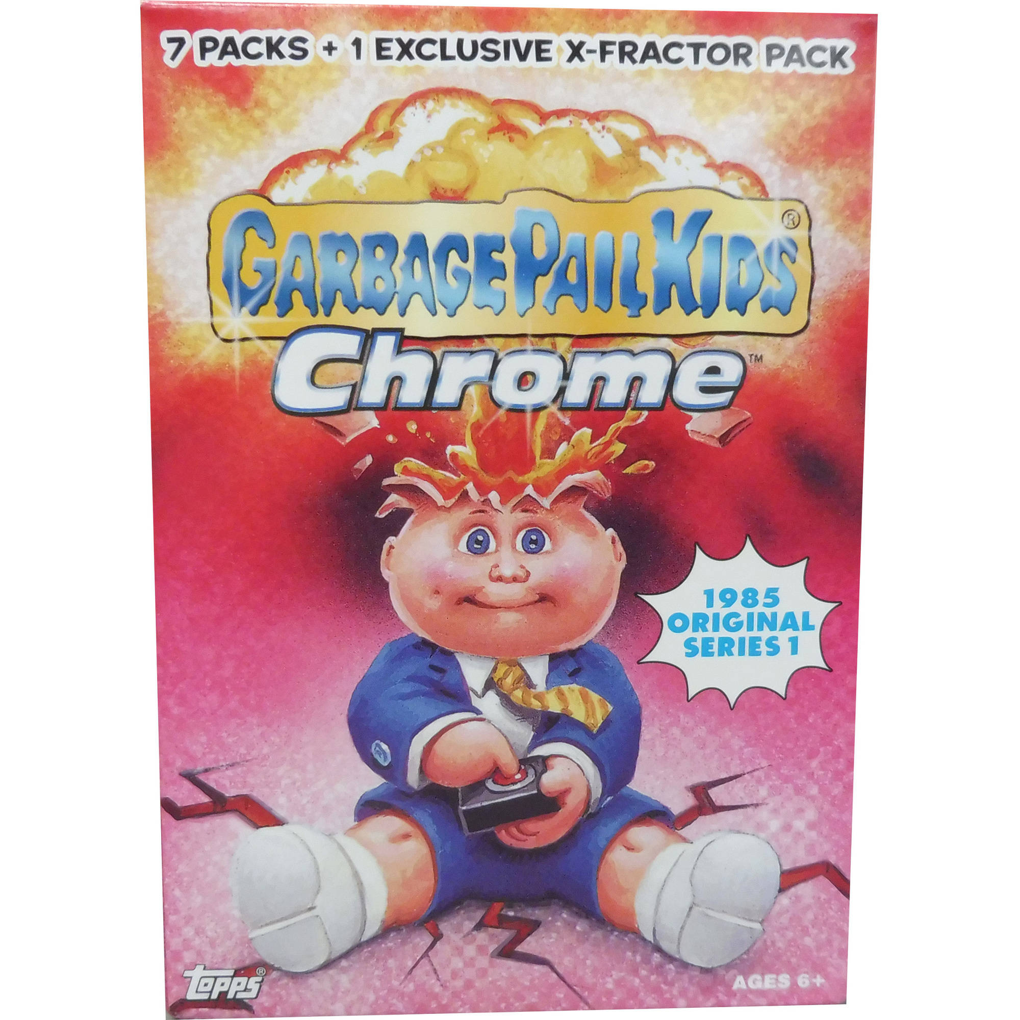Garbage Pail Kids 2013 Chrome Trading Card Value Box