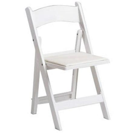 Stupendous Mity Lite Duramax Resin Folding Chair White Creativecarmelina Interior Chair Design Creativecarmelinacom