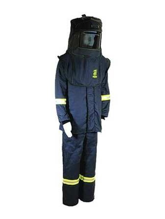 TCG40™ Series Arc Flash Hood, Coat, & Bib Suit Set OBERON COMPANY TCG4B-XL