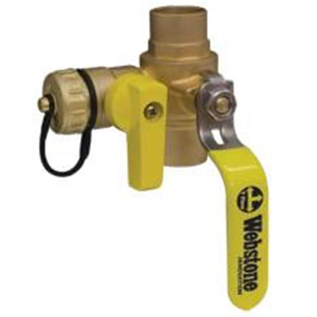 Webstone 106903 Ball Drain Valve 1 In. Swt
