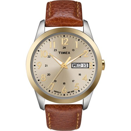 timex men s south street sport watch brown leather strap timex men s south street sport watch brown leather strap