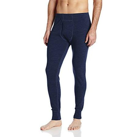 Minus33 Merino Wool Clothing Men's Kancamagus Midweight Bottom, X-Large, Navy
