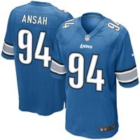 Ezekiel Ansah Detroit Lions Nike Game Jersey - Light Blue