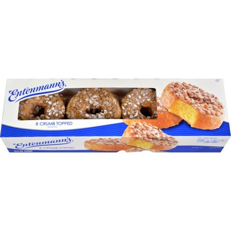Entenmanns Crumb Donuts - 8ct/16oz