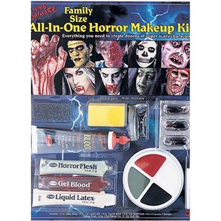 All-in-One Horror Kit Halloween Makeup (Caveman Makeup Halloween)