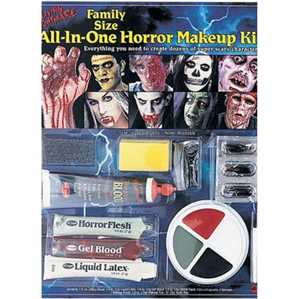 All In One Horror Kit Makeup