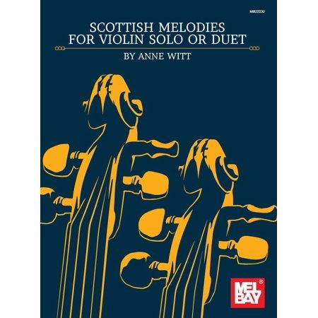Scottish Melodies for Violin Solo or Duet - eBook (Scottish Violin)