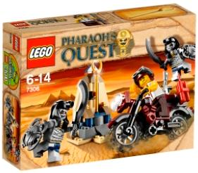LEGO Accessories Pharaoh/'s Quest Golden Staff New