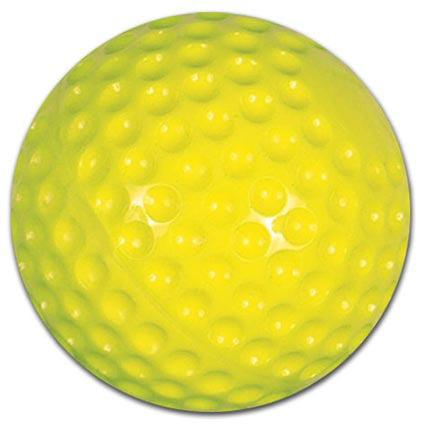 "Softball.com 12"" Yellow Dimple Softball (Dozen) by Softball"
