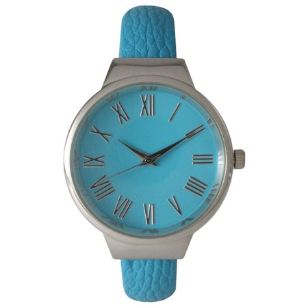Roman Numeral Cuff (Women's Roman Numeral Classic Leather Cuff Watch )