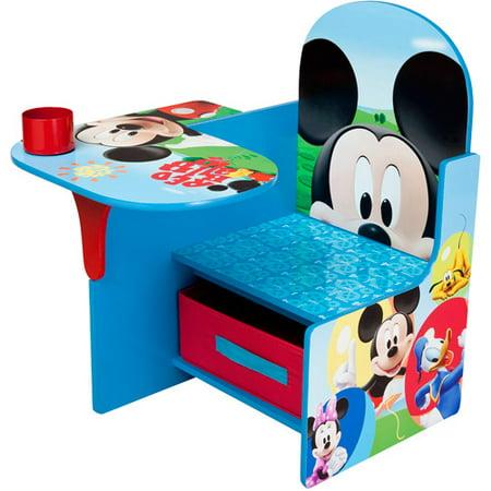 Strange Disney Mickey Mouse Chair Desk With Storage Bin By Delta Children Cjindustries Chair Design For Home Cjindustriesco