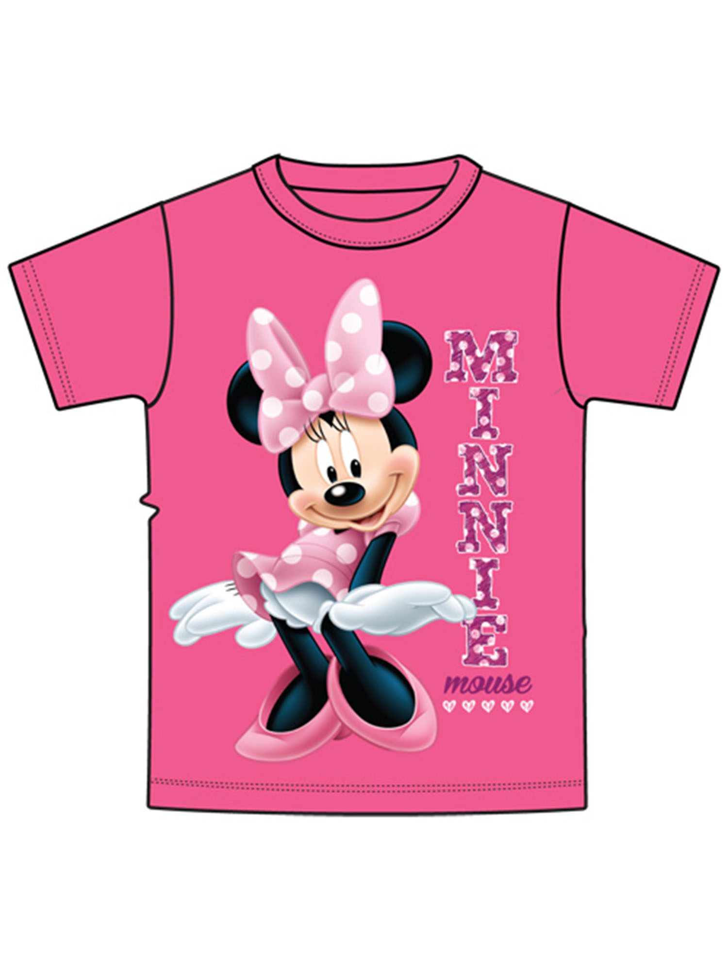 Disney Toddler Sassy Minnie - Pink 2T Tee