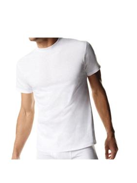 Hanes Tall Men's SUPER VALUE Comfortsoft Fresh IQ White Crewneck 5 Pack