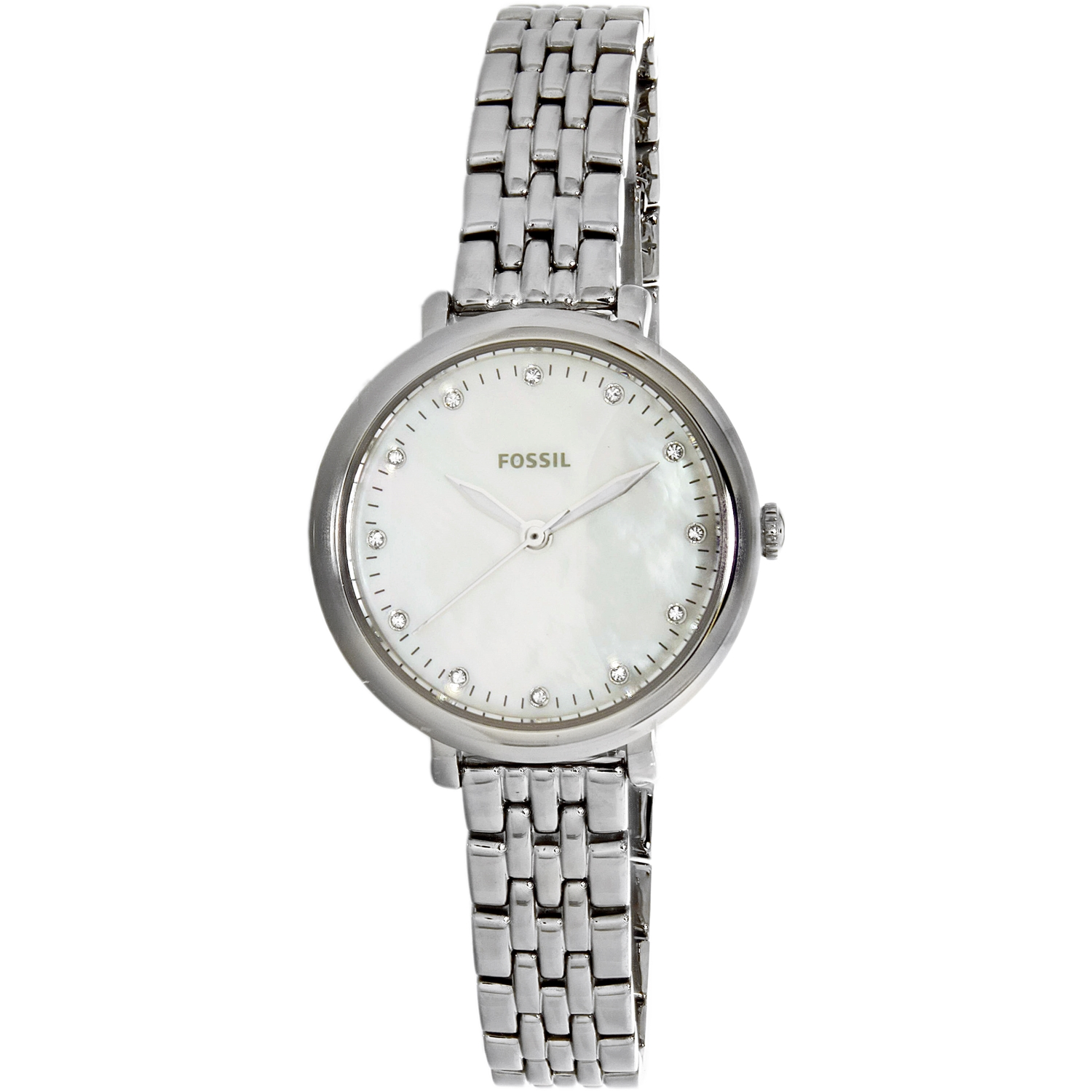 Fossil Women's Jacqueline ES4029 Silver Stainless-Steel A...
