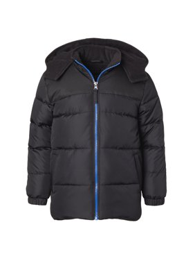 iXtreme Puffer Jacket with Contrast zipper - Free Gift with Purchase (Little Boys & Big Boys)