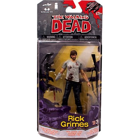 McFarlane Toys Walking Dead Comic Book Series 3 Rick Grimes Action Figure - Rick Grimes Halloween
