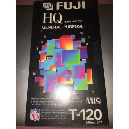 Fuji HG General Purpose VHS T-120 6 Hrs Sealed