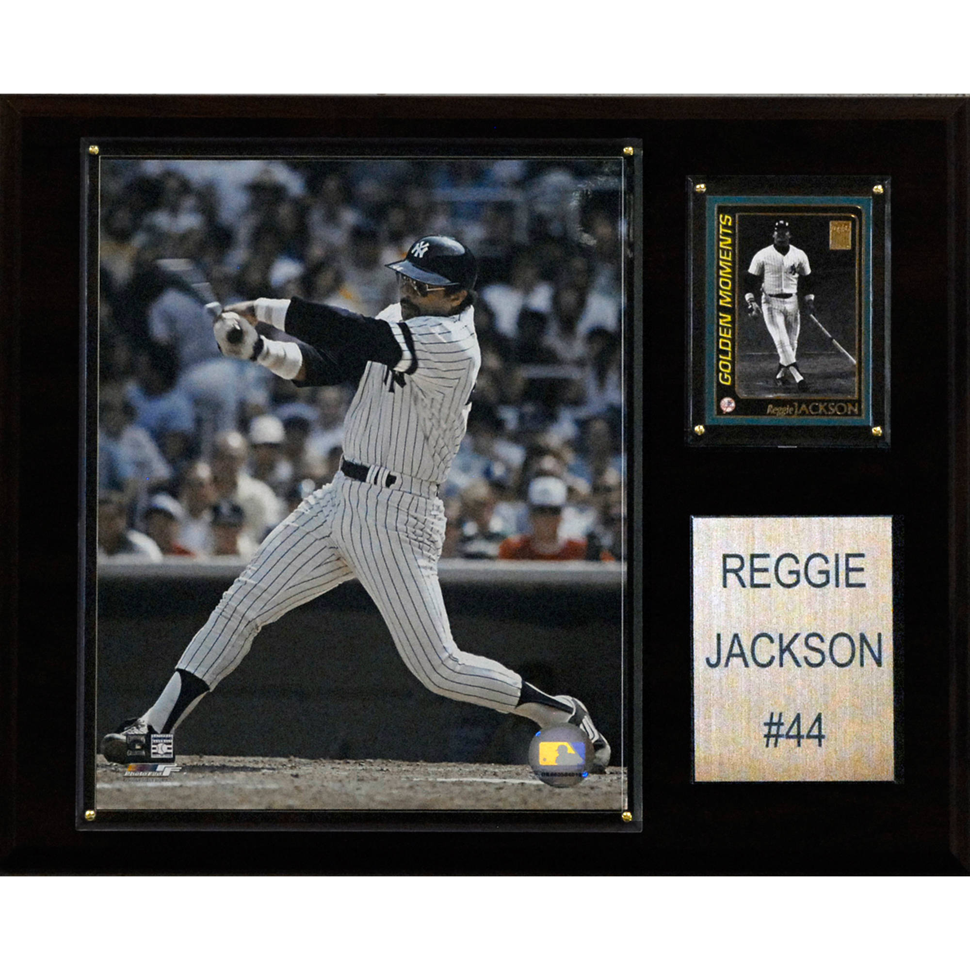 C&I Collectables MLB 12x15 Reggie Jackson New York Yankees Player Plaque