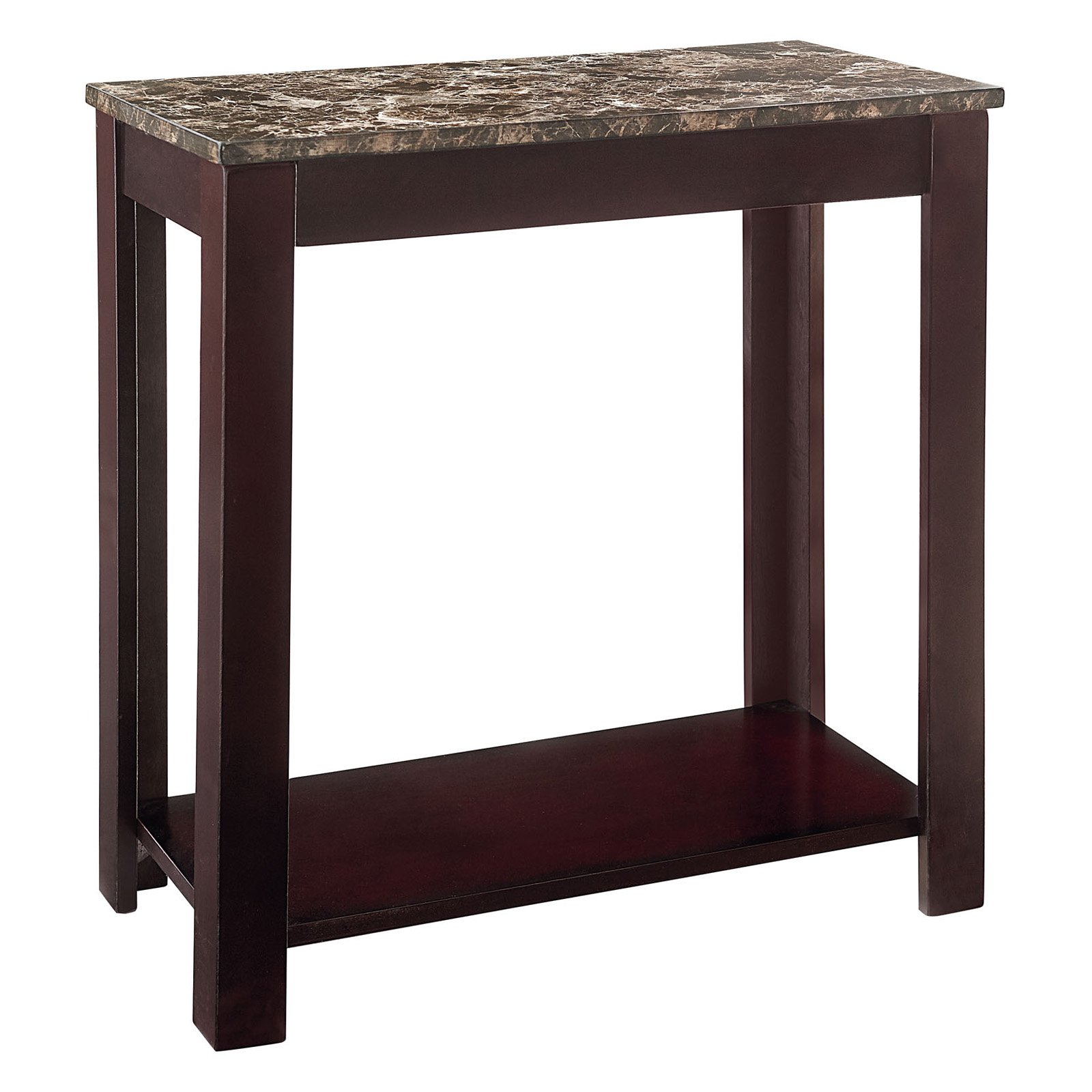 Standard Furniture Faux Marble Chair Side Table