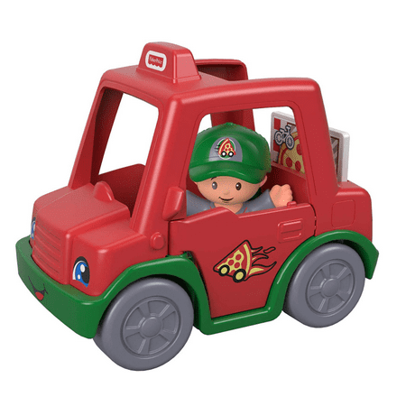 Little People Have a Slice Pizza Delivery Car (Best Pizza Delivery Car)