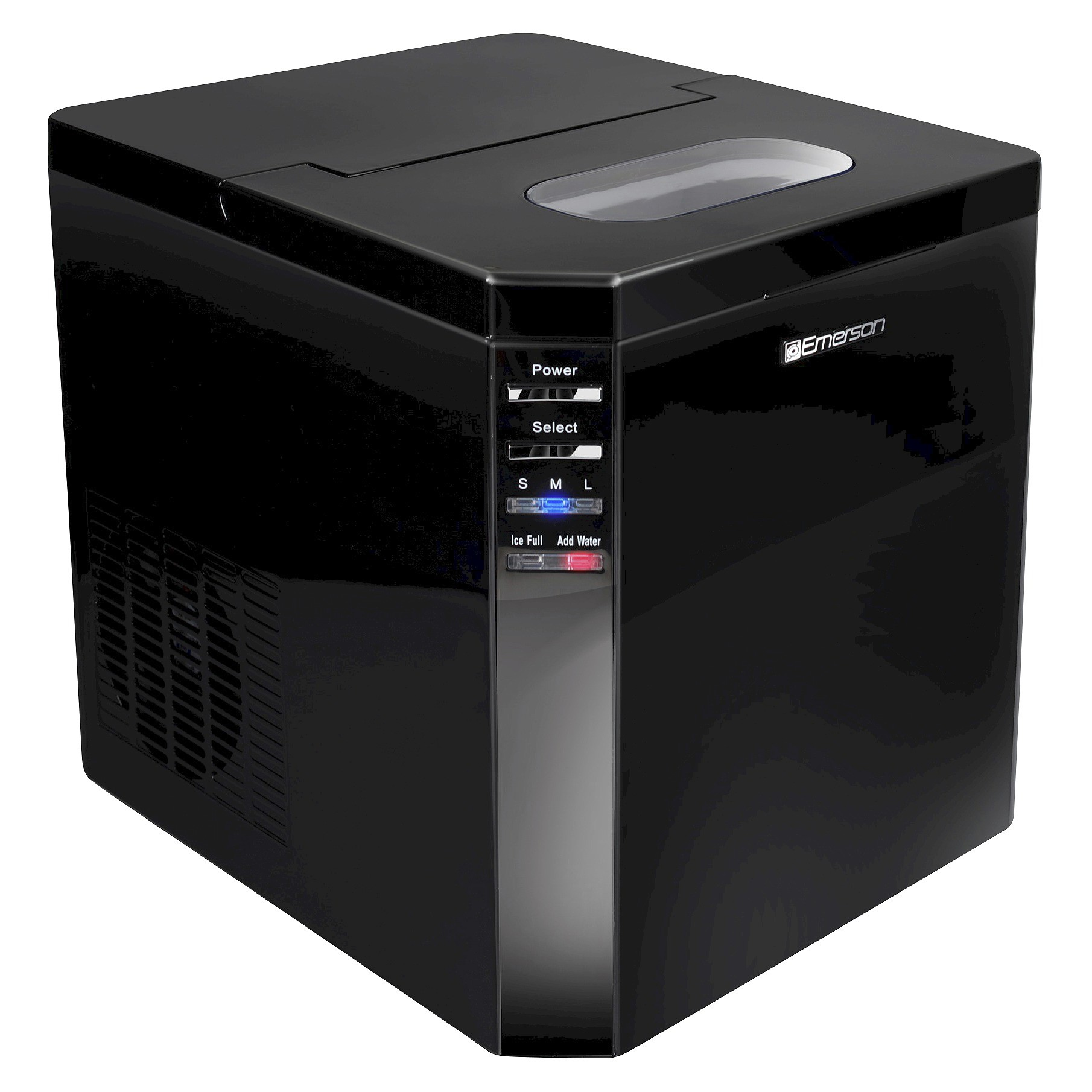 Refurbished Emerson IM93B Portable Countertop 27 Lbs Ice Maker Refrigerator  W/Ice Scoop   Walmart.com