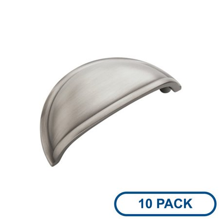 Amerock Bp53010 10pack Allison Value Hardware 3 Inch Center To Cup Cabinet Pull Package Of 10