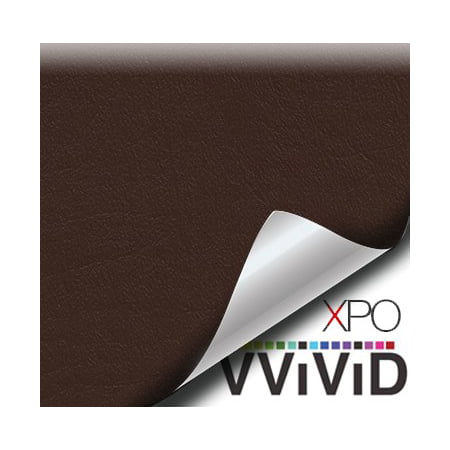 Brown Weatherproof Marine Grade Fabric Vinyl Sticker Faux Leather Finish Contact Paper Roll Decal Car Wrap VViViD](Weathered Paper)