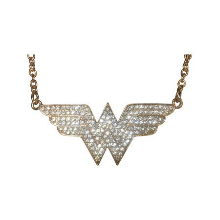 Adult's Womens DC Comics Wonder Woman Necklace Costume Accessory - Wonder Woman Costume Accessories