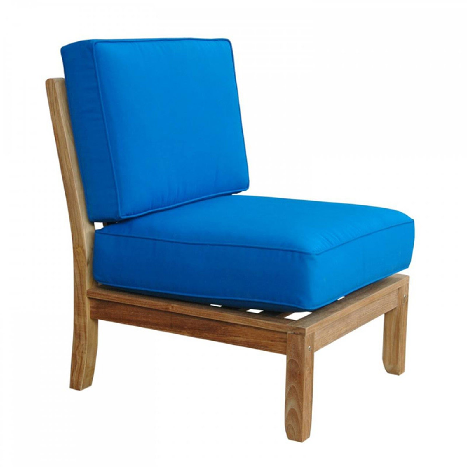 Anderson Teak Natsepa Center Deep Seat Outdoor Modular Chair