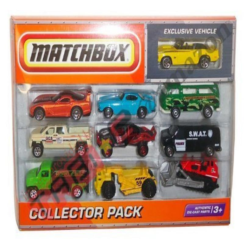 Matchbox Vehicle 10 Pack by